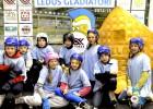 """Tuvojas skolēnu populārās ātrslidošanas sacensības - """"Ledus gladiatori"""""""
