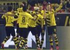 """Dortmundes """"Borussia"""" uzvar aizraujošā mačā un izkļūst no izkrišanas zonas"""