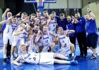 Islandieši Grieķijā pārsteidz Grieķiju un nākamgad spēlēs A divīzijā