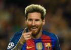 """C grupa: """"City"""" kļūdu vakars, Mesi trīs vārti """"Barcelona"""" graujošā uzvarā"""