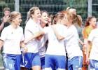 Rīgas Futbola skola trešo reizi izcīna Latvijas sieviešu futbola kausu