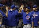 """""""Cubs"""" uzvar atkal un panāk septīto spēli"""