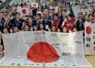 Japānas florbolistes triumfē Āzijā