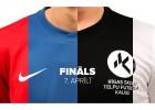 Rīgas Skolu telpu futbola kausa finālā tiksies Purvciema un Rīnūžu vidusskolas