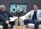 """Video: Toms Hartmanis par """"Kurbadu"""" un Pikānu, pusprofesionāļiem un dzīvi ar hokeju"""