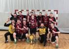 """Rīgas """"Celtnieks"""" pirmo reizi kopš 1992. gada triumfē Latvijas Handbola virslīgā"""