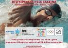 Rīgā norisināsies Latvijas čempionāts peldēšanā