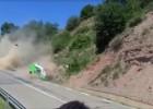 Video: Šaušalīga avārija rallija sacensībās Spānijā