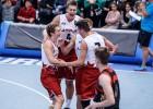 Svētdien Latvijas 3x3 basketbola izlases turpinās cīņu par Eiropas U18 kausa finālturnīru