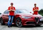 "Video: Raikonens un Fetels izmēģina jauno ""Alfa Romeo"""