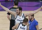 """""""EuroBasket"""" izlase: Bogdanovičs, Šveds, Dončičs, P. Gazols un MVP Dragičs"""