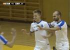 """Video: """"TFK Rēzekne"""" telpu futbolistiem <i>sausais</i> zaudējums savā laukumā"""