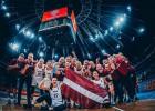 Latvija D grupā pret ASV, Ķīnu un Senegālu