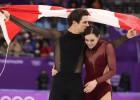 Kanādieši Virtjē un Moirs uzvar dejās uz ledus un iegūst trešo olimpisko zeltu