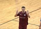 """Video: Raščevskim <i>hattrick</i>, """"LDZ Cargo/DFA"""" līderu duelī uzvar """"Jēkabpils lūši/Ošukalns"""""""