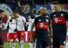 """""""Leipzig"""" atspēlējas un sagādā """"Bayern"""" retu zaudējumu"""