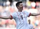 """Levandovskim rekords; """"Borussia"""" grauj cīņā par trešo vietu"""