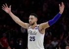 Simonss un Mičels vienbalsīgi iekļauti NBA debitantu simboliskajā izlasē