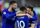 """Liverpūle neiesit """"Stoke"""", """"Chelsea"""" minimāla uzvara, Lesterai 0:5"""