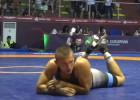 Cīkstonis Samušonoks junioru Eiropas čempionātā piedzīvo dramatisku zaudējumu