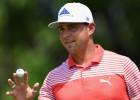 """Vudlends pirms vētras sasniedz """"PGA Championship"""" 36 bedrīšu rekordu"""
