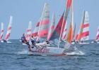 Latvijas sportistiem devītā vieta pasaules čempionātā burāšanā Jūrmalā