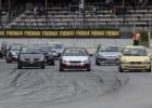 Autošosejas budžeta klase ''ABC Race'' debitē ar spraigām cīņām