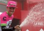 """Kanādietis Vudss uzvar """"Vuelta a Espana"""" 17.posmā, Valverde nedaudz samazina Jeitsa pārsvaru"""