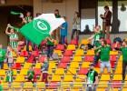 Bērnu namu jaunieši iepazīst profesionālo futbolu