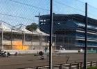 Video: Līdzjutējs nofilmē spraigu avāriju Moncas trases finiša taisnē