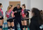 Pamatturnīrā gandrīz uzvarējušās RVS volejbolistes zaudē Baltijas līgas pusfinālā