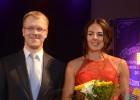 """Video: Kravčenoka: ''Ceru, ka nākamgad varēšu konkurēt ar cīkstoni Grigorjevu"""""""