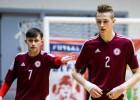 U19 telpu futbola izlase pirmajā pārbaudes mačā piekāpjas Spānijai