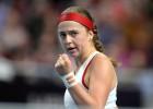 Cerot uz brīnumu, Latvijas tenisistes turpinās maču pret Vāciju