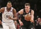 Kurucs NBA sezonu pabeidz ar 14+7 un tiek izraidīts par nesavaldīšanos
