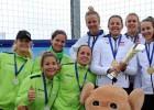 Graudiņa/Kravčenoka un Lece/Ozoliņa uzvar arī otrajā dienā, tiek tālāk olimpiskajā atlasē