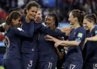 Sieviešu Pasaules kauss sākas ar Francijas vieglu uzvaru pār Dienvidkoreju