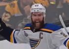 """Video: NHL finālu vārtu topā uzvar """"Blues"""" kapteinis Pjetrandželo"""