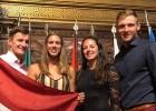 Pļaviņš/Točs un Graudiņa/Kravčenoka mēģinās nopelnīt olimpiskās kvotas