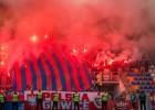 """Vecrīgā pēc """"Riga"""" uzvaras pār """"Piast"""" aiztur trīs poļu fanus (+video)"""