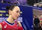 Video: Pēc olimpiskās ceļazīmes iegūšanas Krievijas kapteine nolamājas