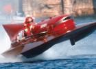 """Pārdošanā nonāk pasaulē vienīgā ātrumlaiva ar """"Ferrari"""" F1 motoru"""