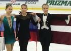 """Daiļslidošanas talante Boļševa ar lielisku sniegumu izcīna """"Volvo"""" kausa bronzu"""