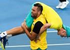 Marejs neizmanto vienkāršu mačbumbu, Austrālija tiek ATP kausa pusfinālā