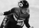 Mirusi pērn pasaules čempionātā uzvarējusī šorttrekiste van Raivena