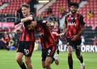 """""""Bournemouth"""" divās minūtēs sagriež spēli kājām gaisā un sagrauj """"Leicester"""""""