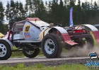 Latviešu braucējiem mainīgas sekmes autokrosa sacensībās Igaunijā