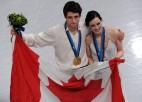 Kanādai pirmais olimpiskais zelts daiļslidošanā
