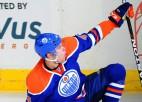 """""""Oilers"""" pēdējā minūtē izrauj uzvaru pār """"Avalanche"""""""