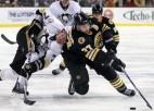 ''Penguins'' beidzot pieveic ''Bruins''